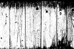 Weathered Planks Background. Rough overlay texture for your design. EPS10 Royalty Free Stock Images
