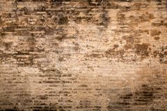 Weathered plaster and brick wall textured background 3 Royalty Free Stock Photos