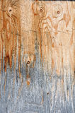 Weathered plywood. A textured background of weathered plywood...good for a concept background for construction industry slump Royalty Free Stock Photos