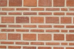 Weathered red brick wall pattern texture background.  stock photos