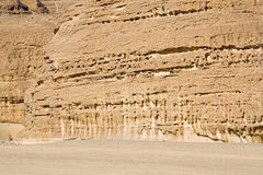 Weathered rock formations. Sinai Peninsula, Egypt royalty free stock photos