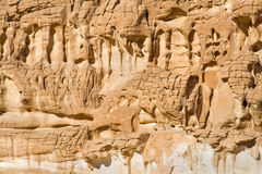 Weathered rock formations Royalty Free Stock Photography