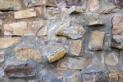 Weathered rock wall texture Royalty Free Stock Photography