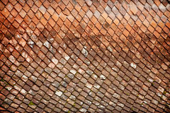 Weathered roof tile Royalty Free Stock Photography