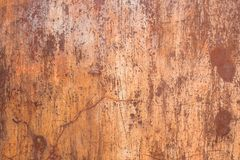 Weathered rusty metal abstract texture stock photo