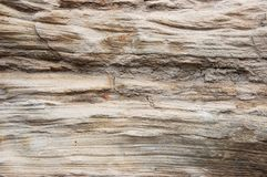 Weathered sandstone cliff Royalty Free Stock Photo