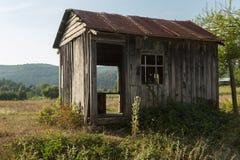 Weathered shack Stock Photo