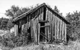 Weathered shack. Stock Photo