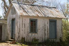 Weathered Shed royalty free stock photography