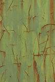 Weathered sheet. Green and rusty weathered sheet Royalty Free Stock Images