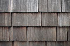 Weathered Shingle Siding stock image