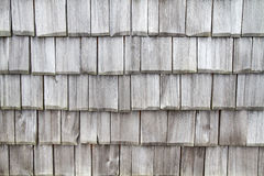 Weathered shingles as background Royalty Free Stock Photography