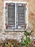 Weathered shutters Royalty Free Stock Photos
