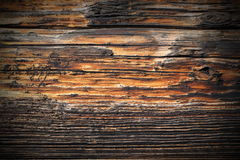 Weathered spruce plank real texture Royalty Free Stock Photos