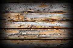 Weathered spruce planks Royalty Free Stock Image