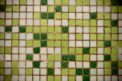 Weathered Square Ceramic Tiles Royalty Free Stock Images