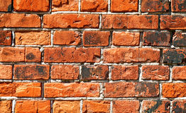 Weathered stained old brick wall Royalty Free Stock Photography