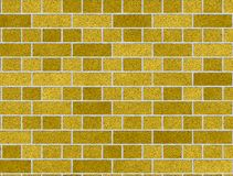 Weathered stained old brick wall background Royalty Free Stock Photo