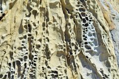 Weathered Stone Formation Royalty Free Stock Photo