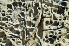 Weathered Stone Formation Royalty Free Stock Images