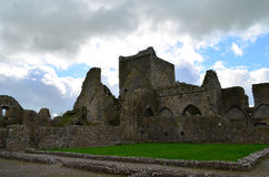 Weathered Stone Ruins of Hore Abbey Stock Photos