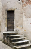 Weathered stone staircase Royalty Free Stock Image