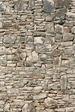 Weathered stone wall. Weathered old stone wall background Royalty Free Stock Images