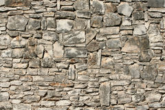 Weathered stone wall Stock Photography