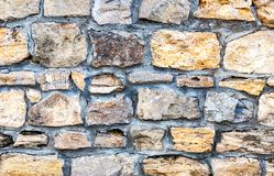 Weathered stone wall as creative background texture. Weathered grey stone wall as creative background texture royalty free stock photography