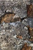 Weathered stone wall Royalty Free Stock Image