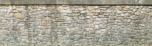 Weathered stone wall texture Royalty Free Stock Photos