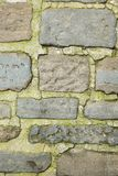 Weathered stone wall, textured background Royalty Free Stock Photography