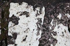 Weathered stone wall Stock Photography