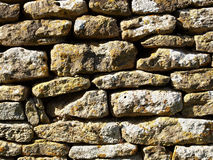 Weathered Stonewall Royalty Free Stock Photography