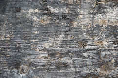 Weathered tarred wooden surface Royalty Free Stock Photos