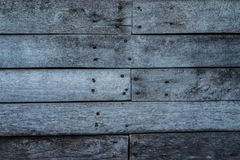 Weathered textured wooden planks, natural pattern background Royalty Free Stock Images