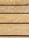Weathered timber wood deck Stock Photography