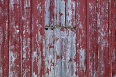 Weathered Vertical Barn Wood stock image