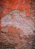 Weathered Wall. Background with Copy Space stock image