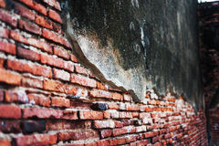 Weathered wall background old time Stock Photography