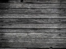 Weathered wall boards. With nails Stock Photo