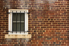 Weathered Wall and Window Stock Photography