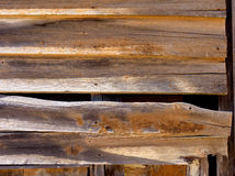Weathered weatherboards Stock Image
