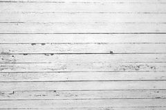 Weathered board wall. A white weathered board wall with horizontal boards Stock Photos
