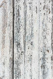 Weathered white wooden background with paint chipped and peeling. Stock Images