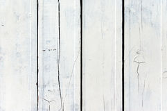 Weathered white wooden plank Royalty Free Stock Images