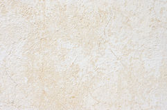 Weathered whitewashed wall Royalty Free Stock Photo