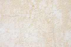 Weathered whitewashed wall Stock Photography