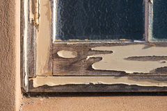 Weathered window frame Stock Photos