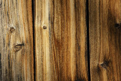 Weathered wood. Plank of an old cabin, great background and texture Royalty Free Stock Photos